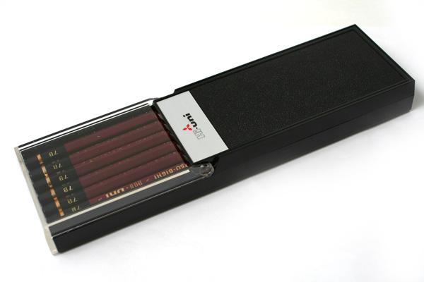 Uni Mitsubishi Hi-Uni Pencil - 7B - Box of 12 - UNI HU7B BUNDLE