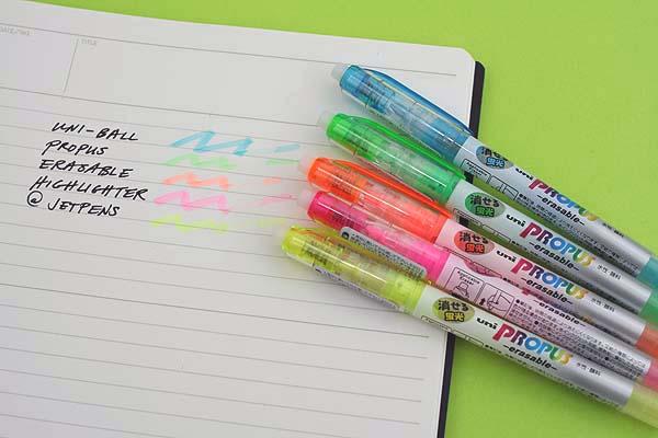 Uni Propus Erasable Highlighter Pen - Blue - UNI PUS151ER.48