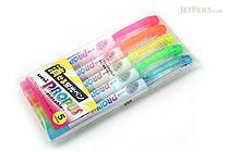 Uni Propus Erasable Highlighter Pen - 5 Color Set - UNI PUS151ER5C