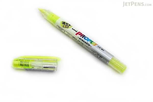 Uni Propus Erasable Highlighter Pen - Yellow - UNI PUS151ER.2