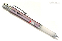 Uni Alpha Gel Slim Mechanical Pencil - 0.5 mm - Noble Pink Body - White Grip - UNI M5807GG1PN.13