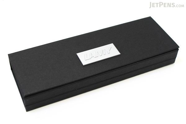 Lamy Studio Fountain Pen - Black - Fine Nib - LAMY L67F