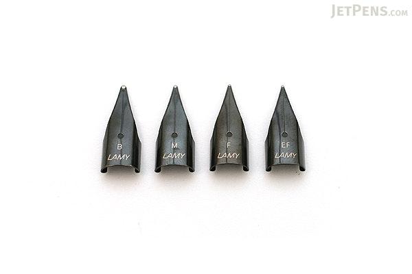 Lamy Fountain Pen Nib - Black Finish - Medium - LAMY LZ50BK-M