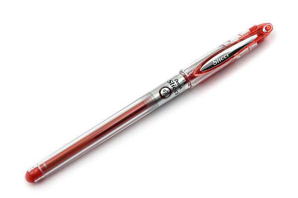 Pentel Slicci Gel Pen - 0.7 mm - Red Ink - PENTEL BG207-B
