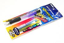 Pentel Quick Dock Sharp Pencil Set - 0.5 mm Violet Purple Pencil + Blue & Yellow Lead Cassettes - PENTEL XQD5V-GS