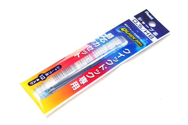 Pentel Quick Dock Sharp Pencil Lead Cassette - 0.5 mm - Sky Blue  - PENTEL XQDR5-S