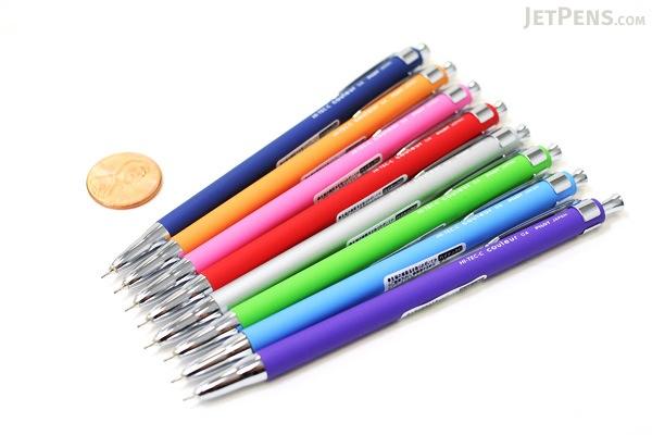 Pilot Hi-Tec-C Couleur Mini Gel Ink Pen - 0.4 mm - Violet Body - Black Ink - PILOT LCL-50C4-V