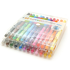 Pilot FriXion Color-Pencil-Like Erasable Gel Ink Pen - 0.7 mm - 24 Color Set