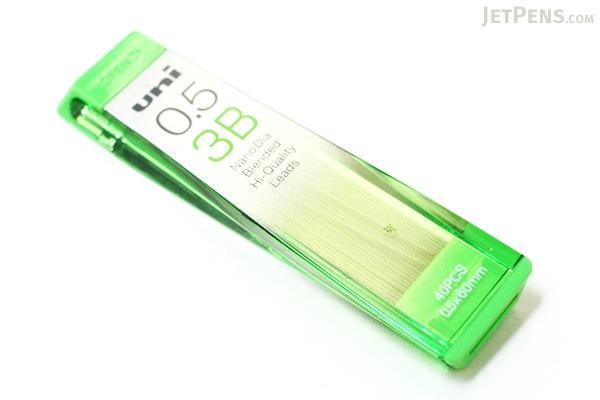 Uni NanoDia Low-Wear Pencil Lead - 0.5 mm - 3B - UNI U05202ND3B