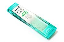 Uni NanoDia Low-Wear Pencil Lead - 0.5 mm - 4B - UNI U05202ND4B