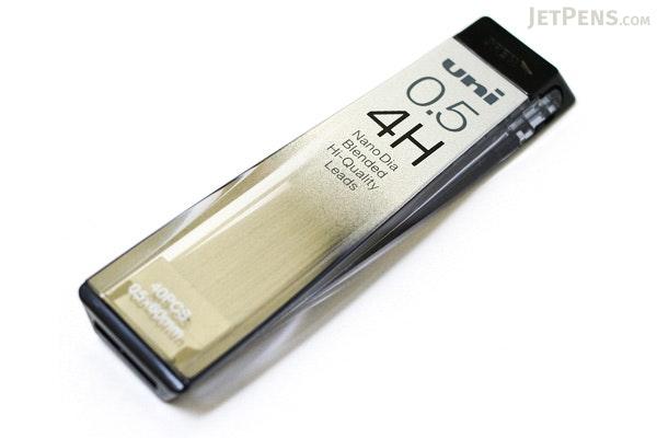 Uni NanoDia Low-Wear Pencil Lead - 0.5 mm - 4H - UNI U05202ND4H