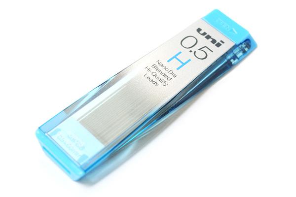 Uni NanoDia Low-Wear Pencil Lead - 0.5 mm - H - UNI U05202NDH
