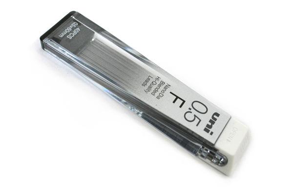 Uni NanoDia Low-Wear Pencil Lead - 0.5 mm - F - UNI U05202NDF