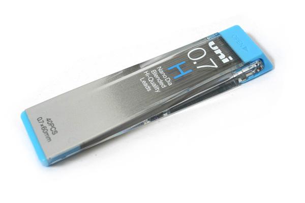 Uni NanoDia Low-Wear Pencil Lead - 0.7 mm - H - UNI U07202NDH