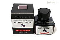 J. Herbin Cacao du Brésil Ink (Brazilian Cocoa Brown) - 30 ml Bottle - J. HERBIN H130/45