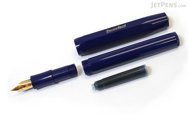 Kaweco Classic Sport Fountain Pen - Blue - Medium Nib - KAWECO 10000001