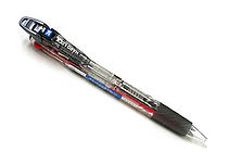 Uni Hard Lock 3 Color Ballpoint Multi Pen - 0.7 mm - Clear Body - UNI SE3350HL.T