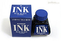 Platinum Fountain Pen Ink - 30 ml Bottle - Blue Black - PLATINUM INK-400 3
