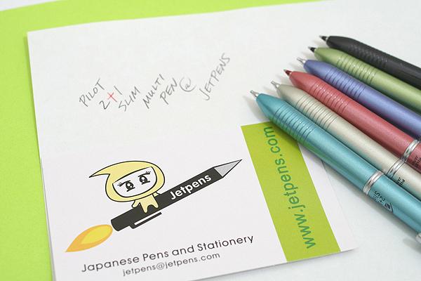 Pilot 2+1 Slim 2 Color 0.7 mm Ballpoint Multi Pen + 0.5 mm Pencil - Soft Blue Body - PILOT BKH-2SR-SL