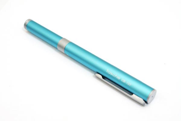Ohto Tasche Ceramic Roller Ball Pen - 0.5 mm - Blue Body - OHTO CB-10T BLUE