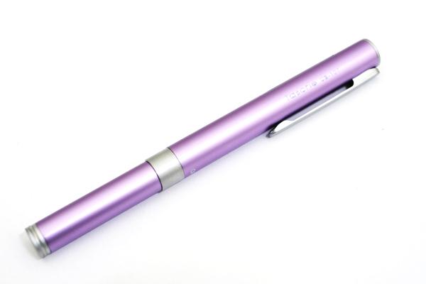 Ohto Tasche Ceramic Roller Ball Pen - 0.5 mm - Purple Body - OHTO CB-10T PURPLE