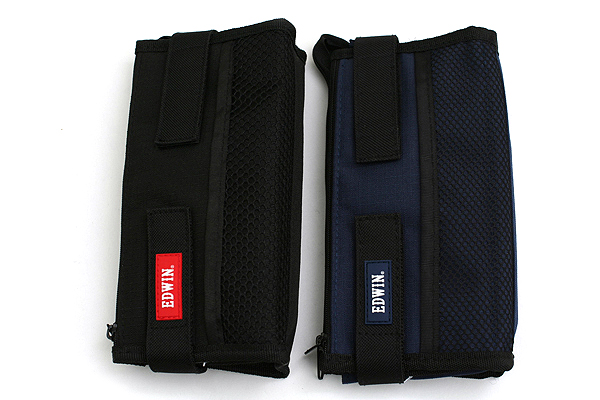Kutsuwa Edwin Folding Pencil Case - Blue - KUTSUWA 143EWBL