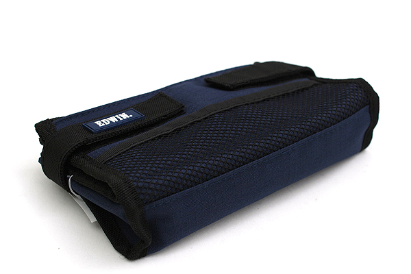 Kutsuwa Edwin Folding Pencil Case - Blue - KUTSUWA 143EWBL