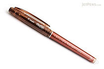 Pilot FriXion Point 04 Gel Pen - 0.4 mm - Brown - PILOT LF-22P4-BN