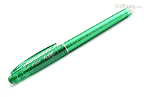 Pilot FriXion Point 04 Gel Pen - 0.4 mm - Green - PILOT LF-22P4-G