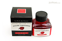 J. Herbin Rouge Caroubier Ink (Carob Red) - 30 ml Bottle - J. HERBIN H130/22