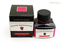 J. Herbin Rouge Bourgogne Ink (Burgundy) - 30 ml Bottle - J. HERBIN H130/28