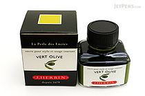 J. Herbin Vert Olive Ink (Olive Green) - 30 ml Bottle - J. HERBIN H130/36