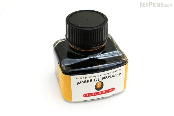 J. Herbin Ambre de Birmanie Ink (Amber Gold of Burma) - 30 ml Bottle - J. HERBIN H130/41