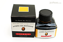 J. Herbin Ambre de Birmanie Ink (Amber Gold of Burma) - 30 ml Bottle - J. HERBIN H130/41