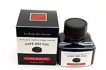 J. Herbin Fountain Pen Ink - 30 ml Bottle - Café des Îles (Island Coffee Brown) - J. HERBIN H130/46