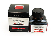 J. Herbin Fountain Pen Ink - 30 ml Bottle - Terre de Feu (Tierra del Fuego Brown) - J. HERBIN H130/47