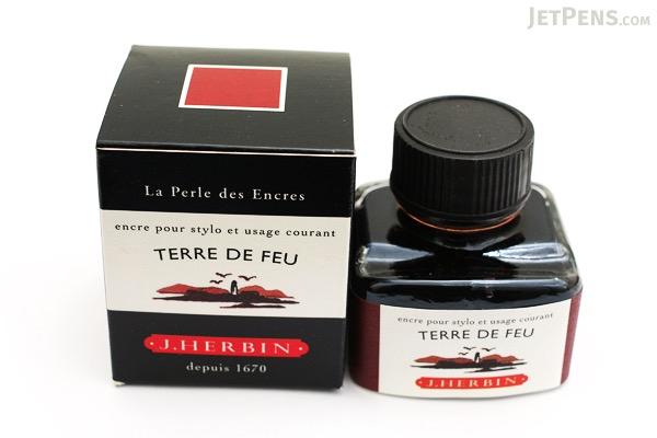 J. Herbin Terre de Feu Ink (Tierra del Fuego Brown) - 30 ml Bottle - J. HERBIN H130/47