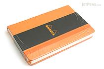 "Rhodia Webnotebook - 3.5"" x 5.5"" - Lined - Orange - RHODIA 118068"