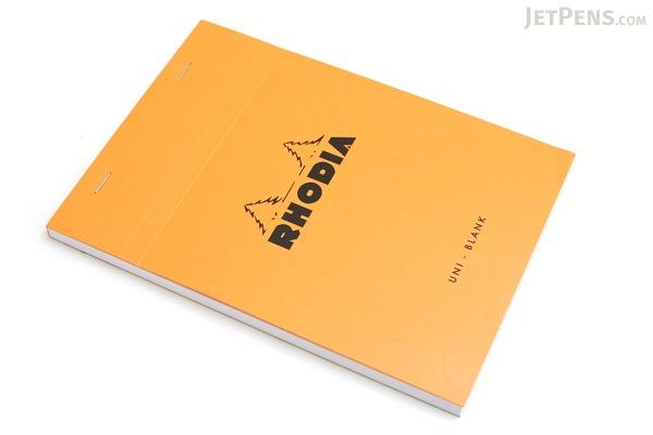 "Rhodia Pad No. 16 - Orange - 5.8"" x 8.3"""" - Blank - Bundle of 10 - RHODIA 16000 BUNDLE"