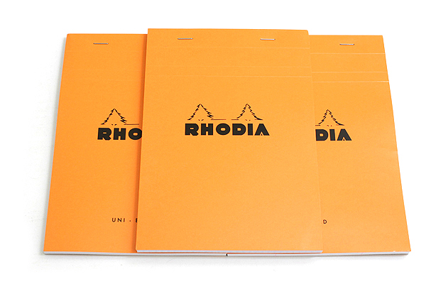 Rhodia Pad No. 16 - A5 - Blank - Orange - RHODIA 16000