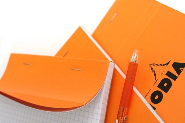 Rhodia Pad No. 16 - A5 - Lined + Margin - Orange - RHODIA 16600