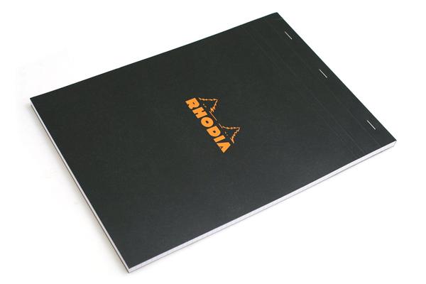 Rhodia Pad No. 18 - A4 - Graph - Black - RHODIA 182009
