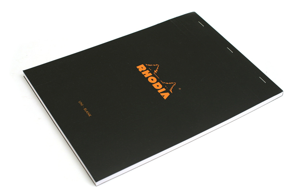 Rhodia Pad No. 18 - A4 - Blank - Black - RHODIA 180009