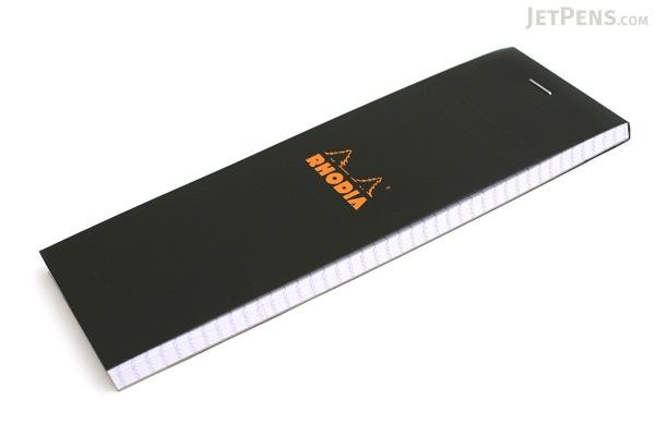 """Rhodia Pad No. 08 - 2.9"""" x 8.3"""" - Graph - Black - RHODIA 82009"""