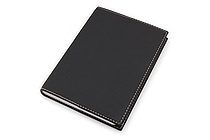 "Exacompta Club Leatherette Refillable Journal - Black - 5"" X 7"" - 192 Sheets - Lined/Undated - EXACOMPTA 1818/1"
