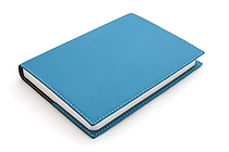 "Exacompta Club Leatherette Refillable Journal - Teal Cover - 5"" X 7"" - 192 Sheets - Lined/Undated - EXACOMPTA 1818-10"
