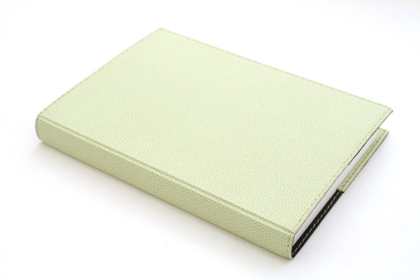 "Exacompta Club Leatherette Refillable Journal - Spring Green Cover - 5"" X 7"" - 192 Sheets - Lined/Undated - EXACOMPTA 1818-14"