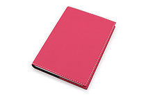 "Exacompta Club Leatherette Refillable Journal - Rose - 5"" X 7"" - 192 Sheets - Lined/Undated - EXACOMPTA 1818/15"