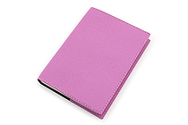 "Exacompta Club Leatherette Refillable Journal - Lilac Purple - 5"" X 7"" - 192 Sheets - Lined/Undated - EXACOMPTA 1818/16"