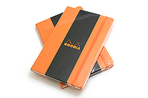 "Rhodia Webnotebook - 5.5"" X 8.25"" - 96 Sheets - Lined - Orange - Bundle of 2 - RHODIA 118608 BUNDLE"